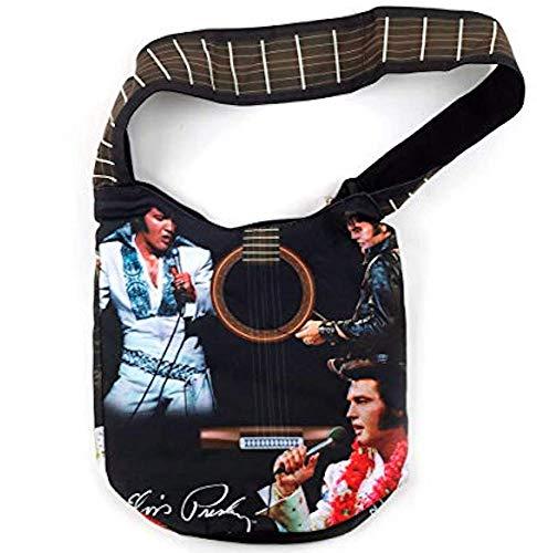 Elvis Presley Große Tragetasche mit Gitarre