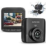 AUTO-VOX D5PRO Dual Dash Cam Front and Rear, 1520P Car Dashboard Camera Recorder
