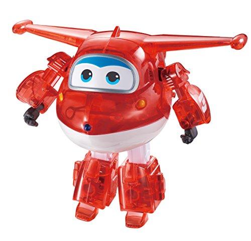 Auldeytoys EU710210A Super Wings JETT X-Ray speelgoedfiguur Transformer Medium, rood