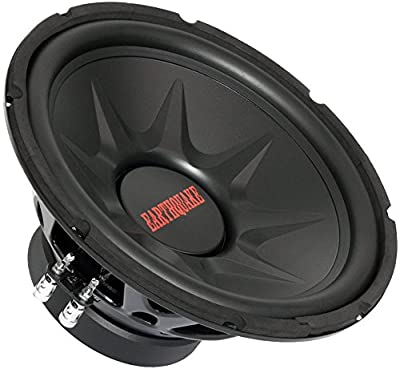 Earthquake Sound TNT-12DVC 12-inch Subwoofer with Dual 4-ohm Voice Coil from Earthquake Sound