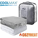 MP2 Weighted Blanket 36 x 48 Inches 5lbs with Removable Coolmax...