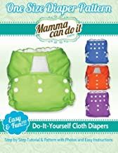 One Size Diaper Pattern: Sew your own Cloth Diapers!