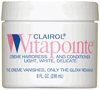 Vitapointe Professional Hair Conditioner, Jar, 8 Ounce