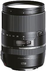Tamron AF 16-300 mm F/3.5-6.3 Di II VC PZD MACRO - Objetivo para Nikon (distancia focal 16-300mm, apertura f/3.5-6.3, zoom óptico 18.75x, estabilizador, motor de enfoque, macro, filtro: 67mm) negro
