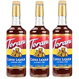 Torani Coffee Liqueur Syrup (25.4oz) 3 Pack