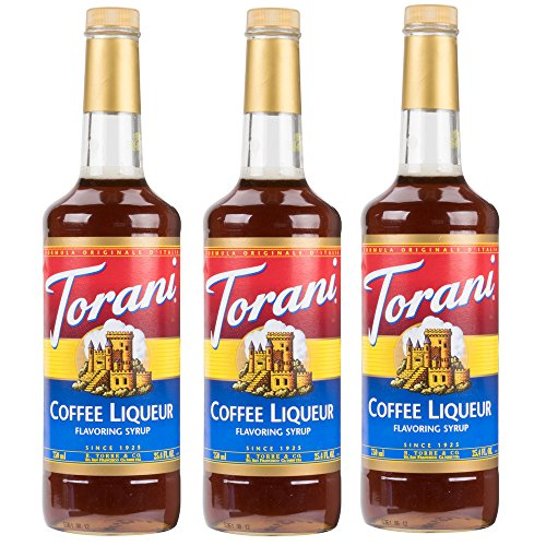 Torani Syrup Coffee Liqueur (25.4oz) 3 Pack