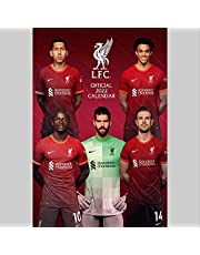 The Official Liverpool F.C. Calendar 2022 (The Official Liverpool FC A3 Calendar 2022)