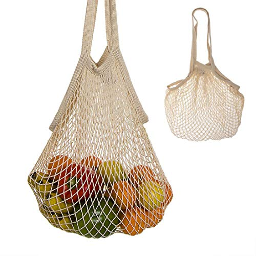 Home Gadgets Bolsa de Compra Malla para Fruta y Verdura Reutilizable 30x40 cm