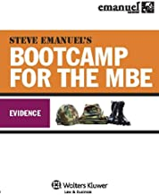 Steve Emanuel's Bootcamp for the MBE: Evidence (Emanuel Bar Review Series)