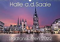 Halle an der Saale - Stadtansichten 2022 (Wandkalender 2022 DIN A3 quer): Halle von seiner schoensten Seite. (Monatskalender, 14 Seiten )