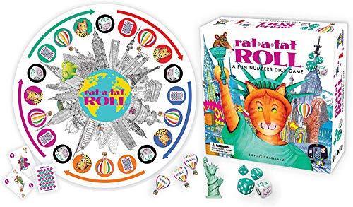 Rat-A-Tat Roll - 楽しい数字のサイコロゲーム