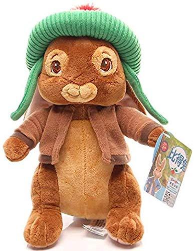 Junsansir Peter Rabbit Plüschpuppen Spielzeug Schöne Lilie Benjamin Peter Bunny Kaninchen Plüsch Kuscheltiere Spielzeug Geschenk für Mädchen Kinder 30cm