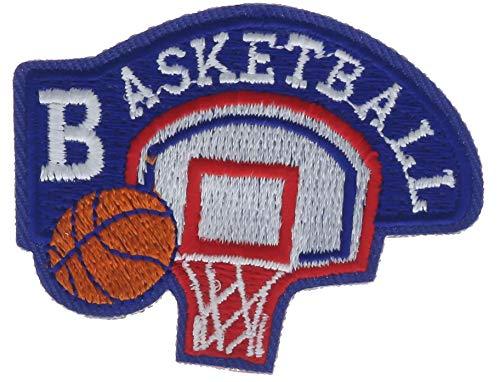 AVAS0503k Aufnäher Basketball, 5,7 cm