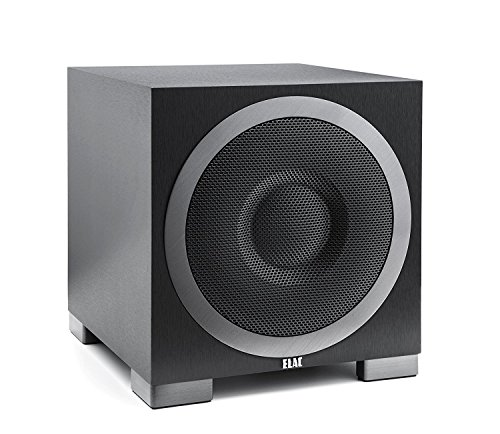 ELAC Debut S10EQ Lautsprecher 200/400W schwarz dekor
