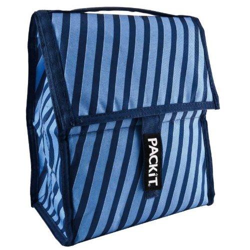 Pack it, Die Kühltasche, die keine Eis-Akkus benötigt in schwarz 27 x 21 x 11,5 cm