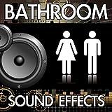 Hand Held Bidet Shower (Bathroom Spray Sprayer Restroom Toilet Washroom Water Noise Clip) [Sound Effect]