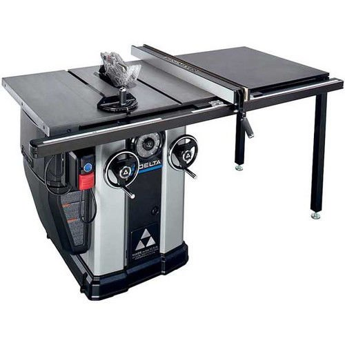 36-L536 5 HP Left Tilt Unisaw Table Saw with 36 inch Biesemeyer Fence System -  DELTA