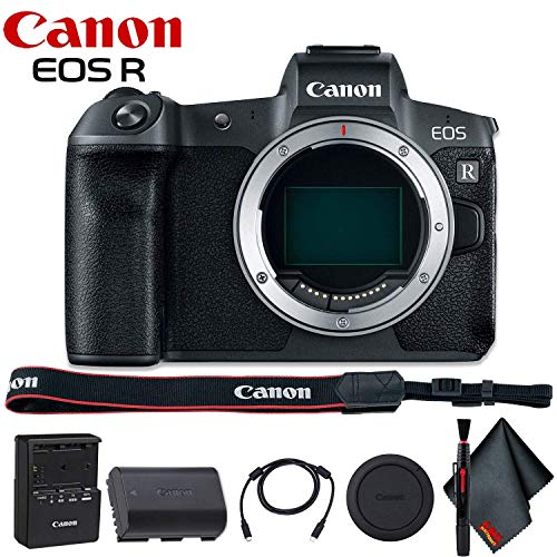 Canon EOS R Mirrorless Digital Camera (Body Only) - Includes - Cleaning Kit