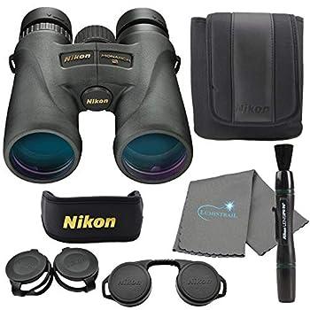 Nikon Monarch 5 Binoculars Black  12x42  Bundle with a Lens Pen and Lens Cloth