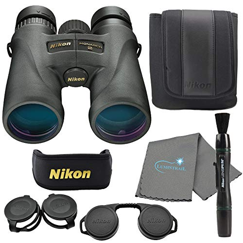 Nikon Monarch 5 Binoculars, Black (12x42)