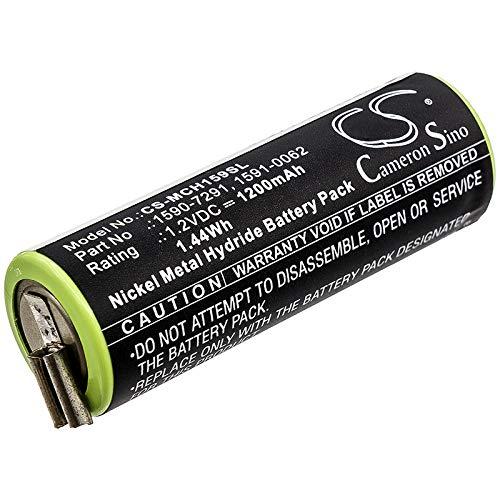 CS-MCH159SL Batería 1200mAh Compatible con Moser Ermila Bel