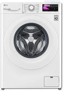 atFoliX Plastglasskyddsfilm är kompatibel med LG F14WM9EN0 Glasskydd, 9H hybridglas FX Skyddsglas av plast