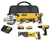 Best Power Tool Combo Kits - DEWALT 20V MAX Cordless Drill Combo Kit Review