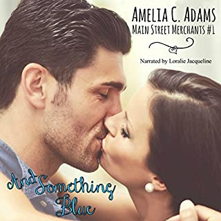 And Something Blue audiobook cover art