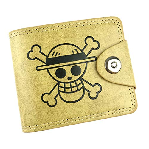 WANHONGYUE One Piece Anime Klassisch Kunstleder Trifold Geldbörse Geldbeutel Portemonnaie Portmonee Brieftasche /2