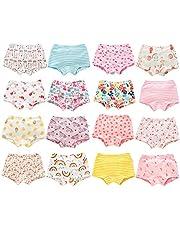 Allmeingeld Girls' Assorted Sleeveless Underwear Vests Top 100% Cotton Undershirt 3 Pack for 1-9 Years