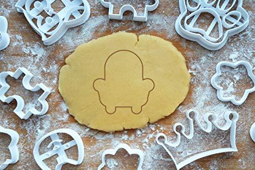 Sessel Ausstecher Ausstechform 7cm Polster Armsessel Keksausstecher Backen Fondant Cookie Cutter Plätzchen
