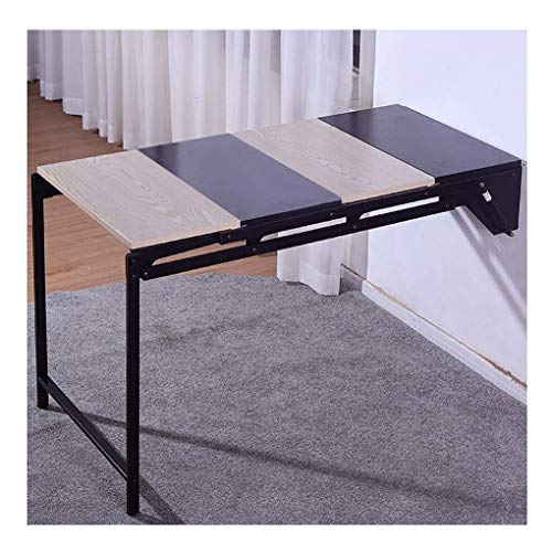 FFYN Wall Mounted Folding Desk, Wood Wall Mounted Table, Stable Sturdy Construction,...