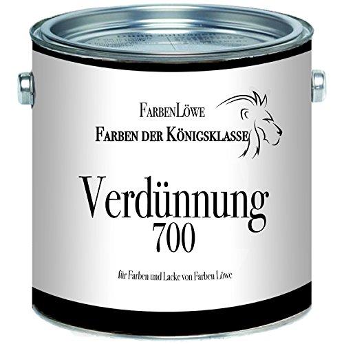 Farben Löwe Alkydharzverdünnung 700 - Spezialverdünnung extra für Farben und Lacke von Farben Löwe (1 L)