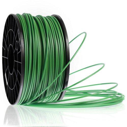 Kaisertech Filament für 3D Drucker 1kg ABS 1,75mm Tannengrün - Premium Qualität Spule Rolle