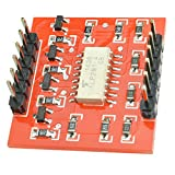 Gaoominy Tlp281 Module IC Opto-Isolateur 4 Canaux pour Carte D'Extension pour Low High Level