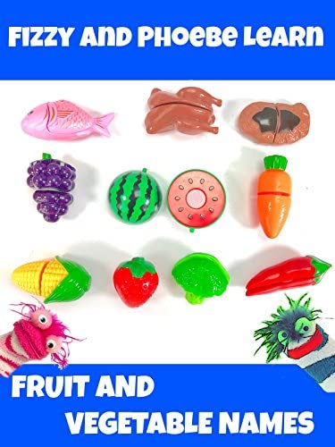 Fizzy and Phoebe Learn Fruit and Vegetable Names product image