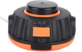 Trimmer Head - Strimmer desbrozadora cabezal de corte Compatible con McCulloch B26Ps T26Cs MT260CLS Rep 5310250-01 (Color : Black)