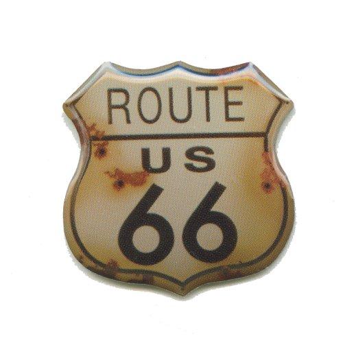 hegibaer Route 66 USA Mainstreet Mother Road Nostalgie Retro Edel Pin Anstecker 0594