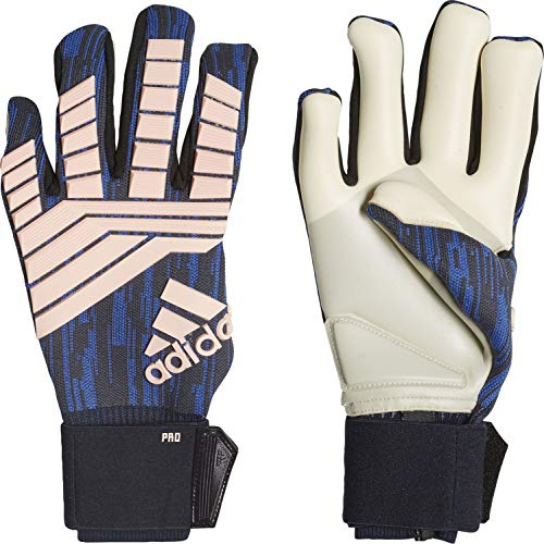 Adidas Predator Pro Cold Mode Guanti da portiere Trace Royal S18/Clear Orange / Tech ink, 10 pezzi