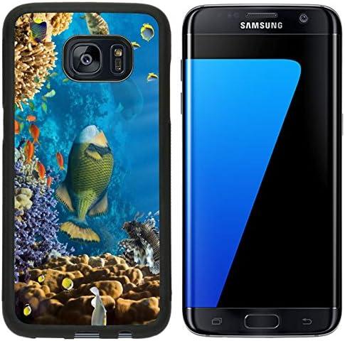 Luxlady Premium Samsung Galaxy S7 Edge Aluminum Backplate Bumper Snap Case IMAGE ID 21995943 product image