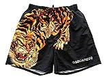DSquared Costume da Bagno Uomo Tiger Shorts D7N5M3450.018 Taglia 46 (46)