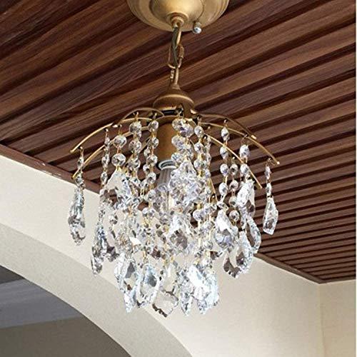 Iluminación Shining Crystal Restaurant Chandelier Duplex Villa Lámpara de techo Cristal Escalera Araña Stairwell Largo Araña Moderno Minimalista Colgante Lámpara Creativa Aisle Chand