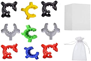 REAM Keck Clip 10MM 14MM/19MM Multiple Colors (Pack of 6/9) (9)
