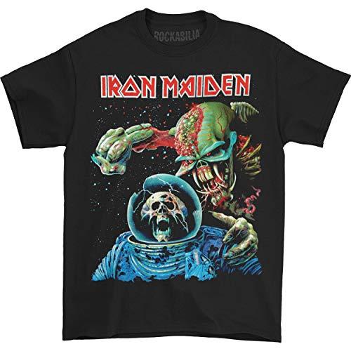 Rockoff Trade Iron Maiden Final Frontier T-Shirt, Noir, L Homme