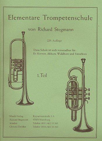 Richard Stegmann Verlag Elementarschule f. Trompete 1