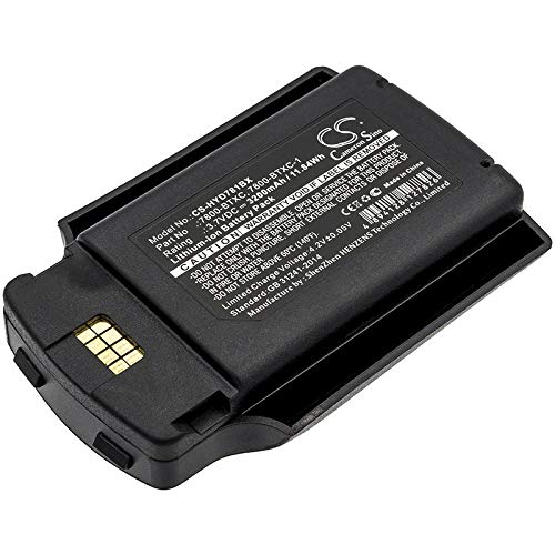 Find Bargain HSDZ Battery Suitable for Dolphin 7600, 7600 II 3200mAh / 11.84Wh