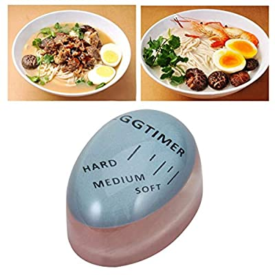 Jessicadaphne Portable Size Home Kitchen Egg Timer Useful Color Changing Boiled Eggs Cooking Helper Kitchen Eggs Cooking Supplies from Jessicadaphne