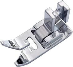 YEQIN Low Shank Zig Zag Sewing Machine Presser Foot with Low Shank Adaptor- Fits All Low Shank Singer, Brother, Babylock, Viking (Husky Series), Janome, Bernina, Kenmore, White