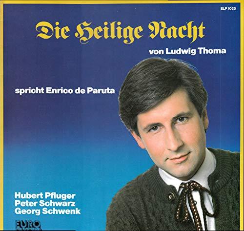Paruta, Enrico de / Die Heilige Nacht von Ludwig Thomalla / 1985 / Bildhülle / Europhon ELP 1025 / Schweizer Pressung / 12 Zoll Vinyl Langspielplatte LP / Keine CD /