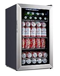 Kalamera 93-Can Compressor Beverage Refrigerator/Beer Cooler